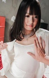 Kotomi Asakura with round chest has shaved twat well screwed