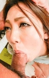 Hikari with big firm cans is fucked in mouth and gets vibrator