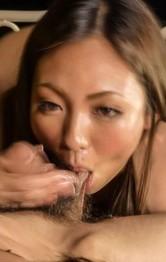 Hikari licks balls and penis and enjoys hot 69 in her garden